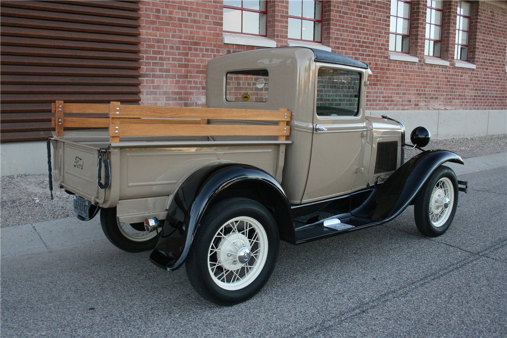 1930 FORD MODEL A PICKUP - Rear 3/4 - 189992