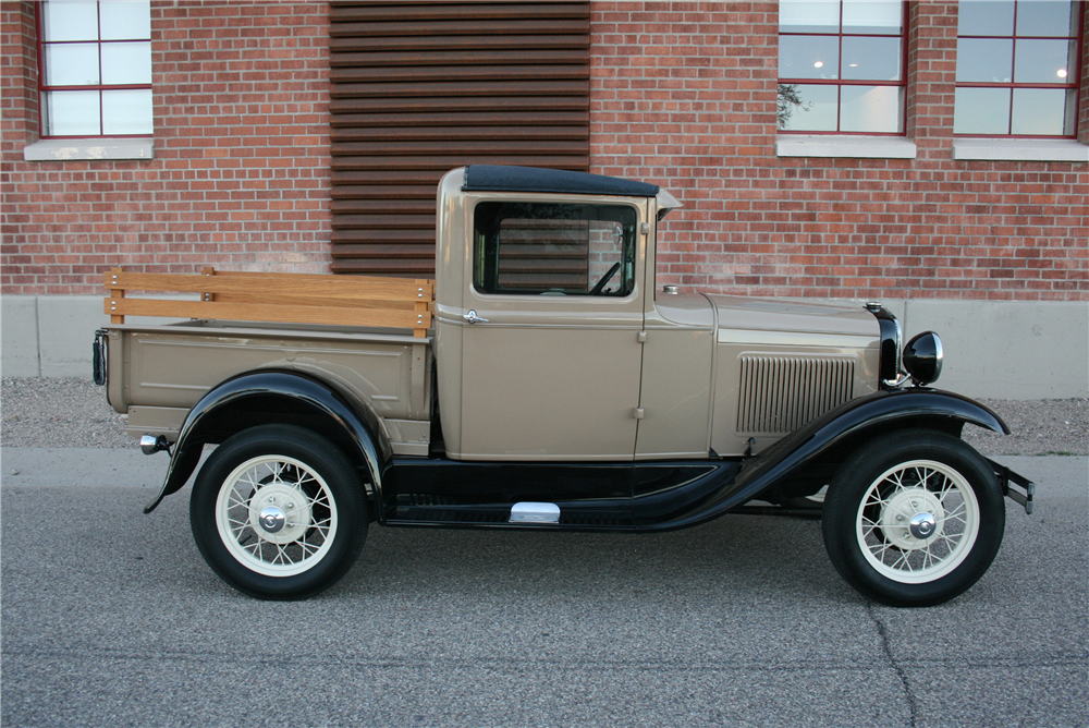 1930 FORD MODEL A PICKUP - Side Profile - 189992