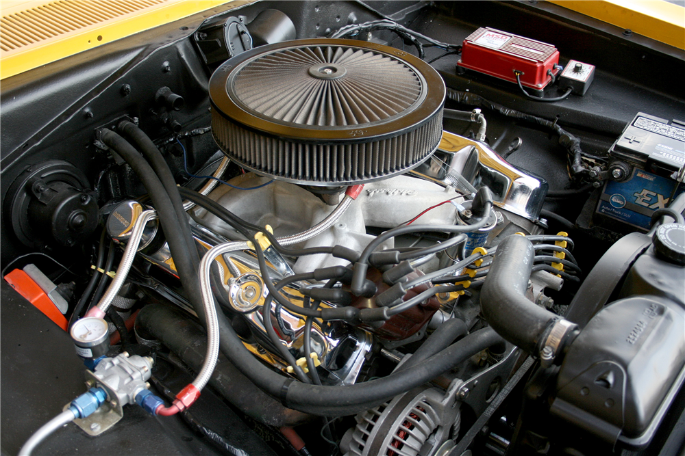1967 PLYMOUTH BARRACUDA FASTBACK - Engine - 189993