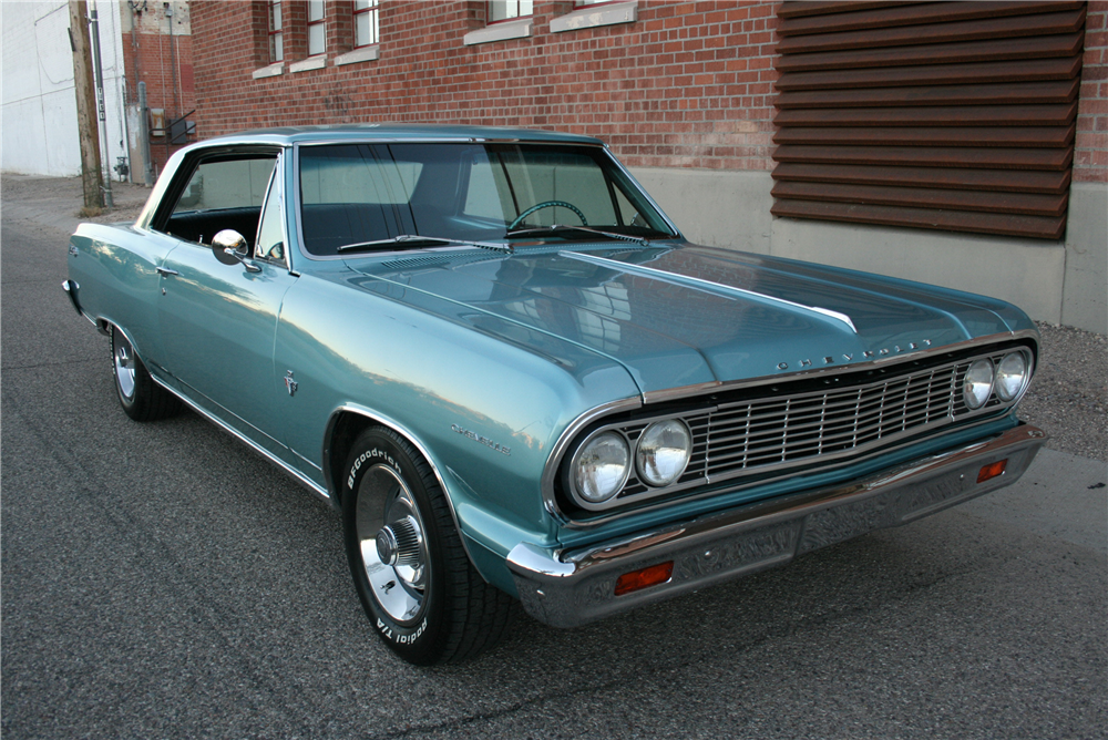 1964 CHEVROLET CHEVELLE SS  - Front 3/4 - 189994