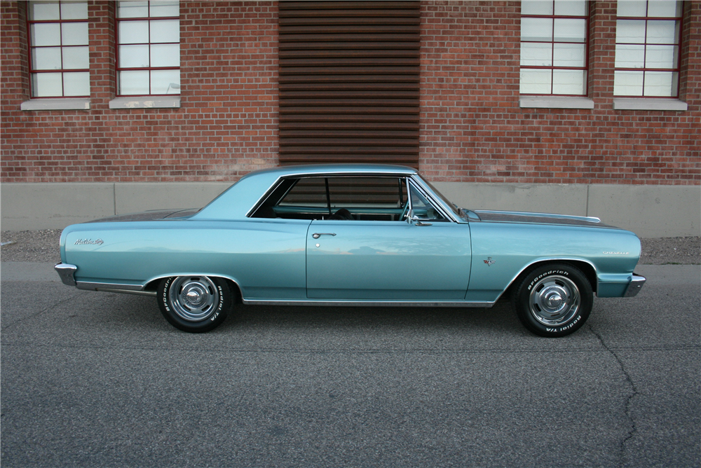 1964 CHEVROLET CHEVELLE SS  - Side Profile - 189994