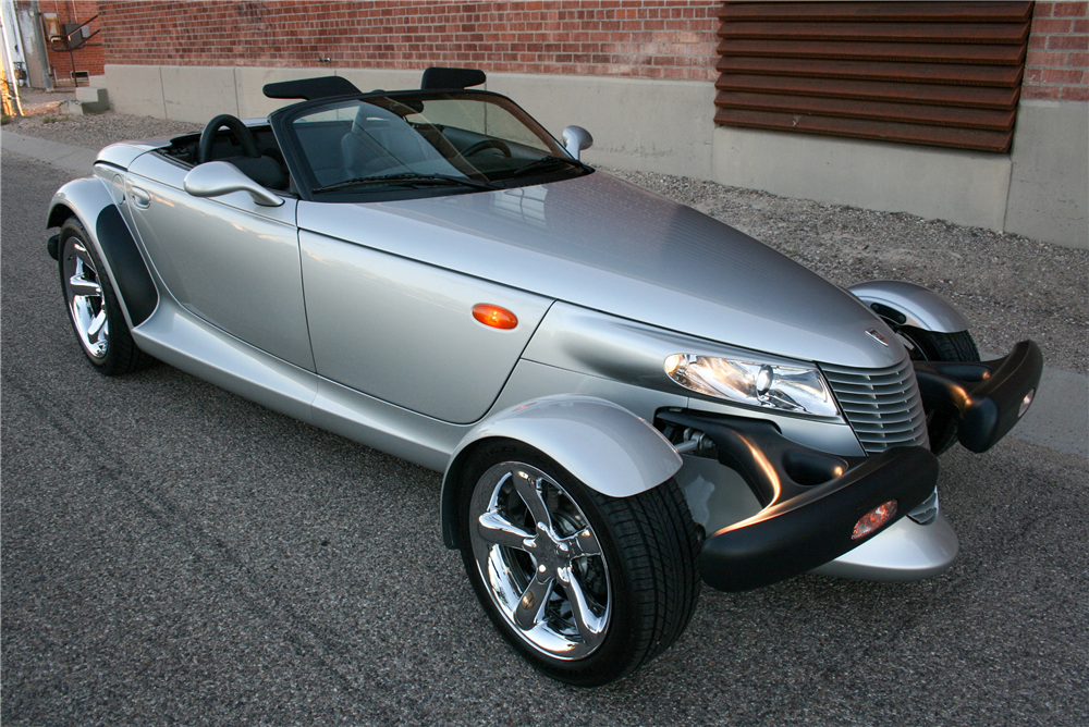 2000 PLYMOUTH PROWLER CONVERTIBLE - Front 3/4 - 189996