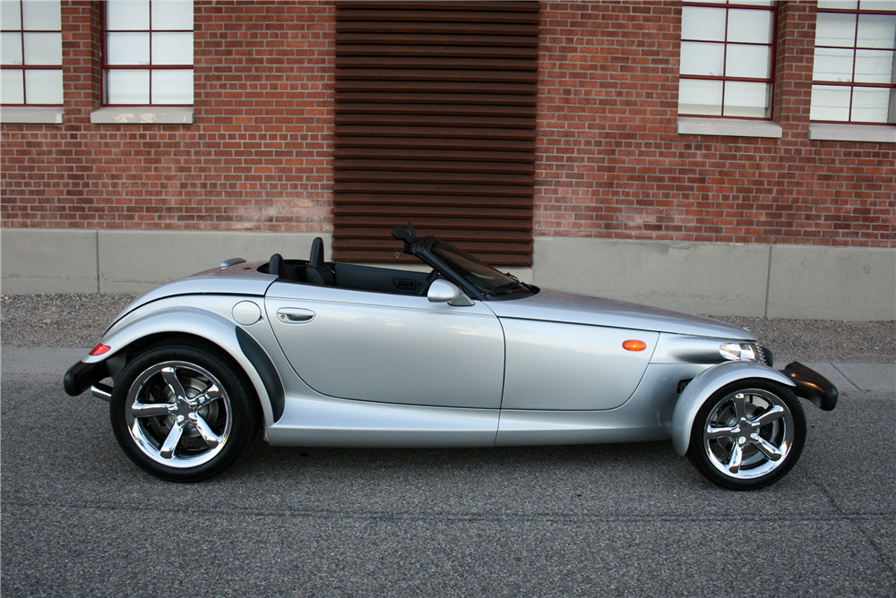 2000 PLYMOUTH PROWLER CONVERTIBLE - Side Profile - 189996