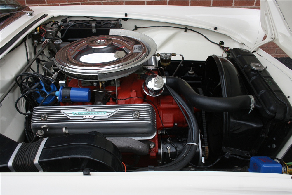1957 FORD THUNDERBIRD CONVERTIBLE - Engine - 189998
