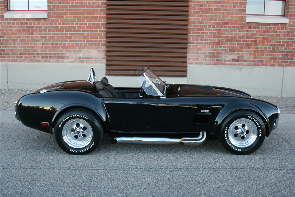 1965 SHELBY COBRA RE-CREATION ROADSTER - Side Profile - 190000