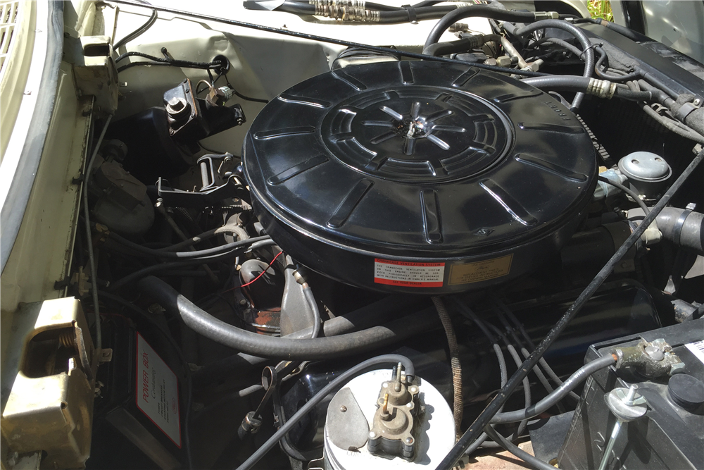 1960 LINCOLN CONTINENTAL CONVERTIBLE - Engine - 190005