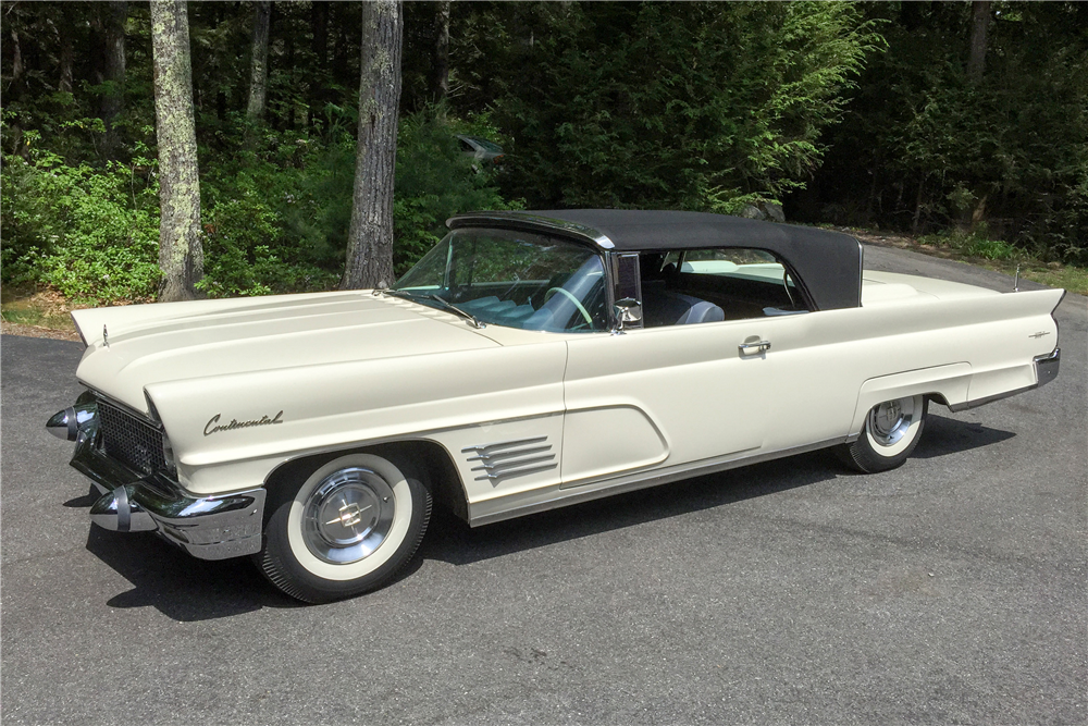 Clean Cars And Credit >> 1960 LINCOLN CONTINENTAL CONVERTIBLE - 190005