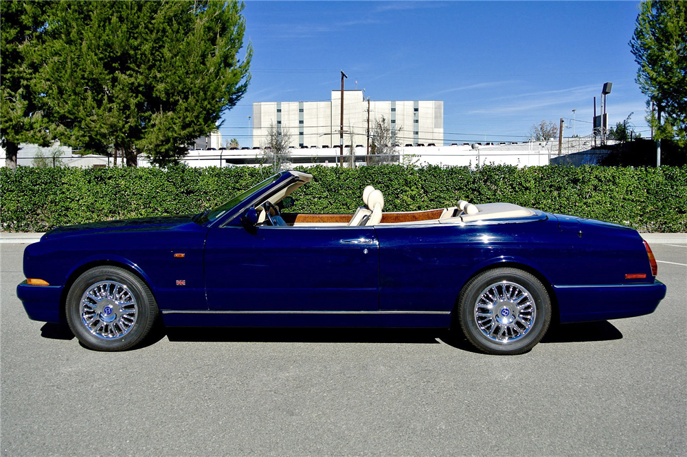 2000 BENTLEY AZURE CONVERTIBLE - Side Profile - 190006
