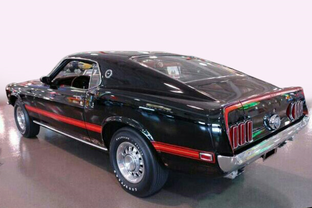 1969 FORD MUSTANG 428 CJ FASTBACK - Rear 3/4 - 190018