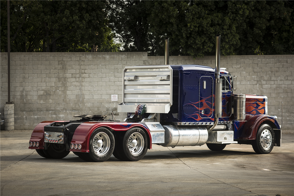 1992 PETERBILT 379 'TRANSFORMERS OPTIMUS PRIME' STUNT ...