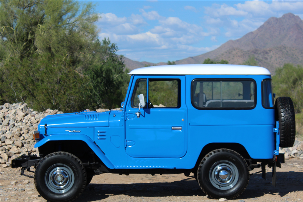 1976 TOYOTA LAND CRUISER SUV - Side Profile - 190028