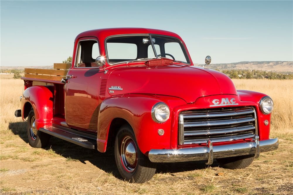 1949 GMC 100 5-WINDOW PICKUP - Front 3/4 - 190031