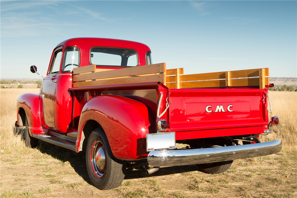 1949 GMC 100 5-WINDOW PICKUP - Rear 3/4 - 190031