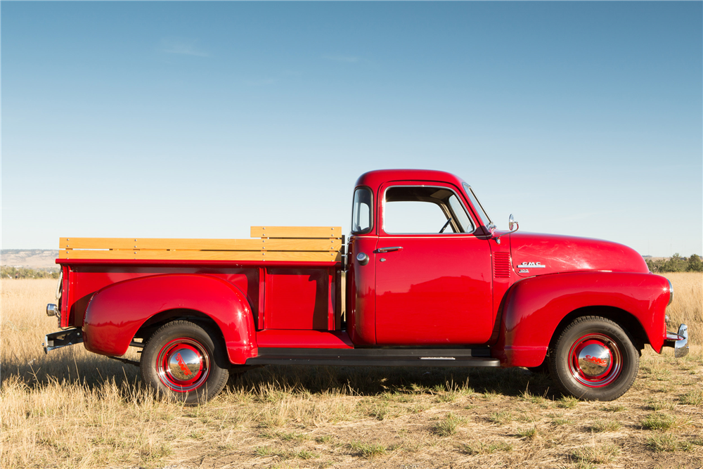 1949 GMC 100 5-WINDOW PICKUP - Side Profile - 190031