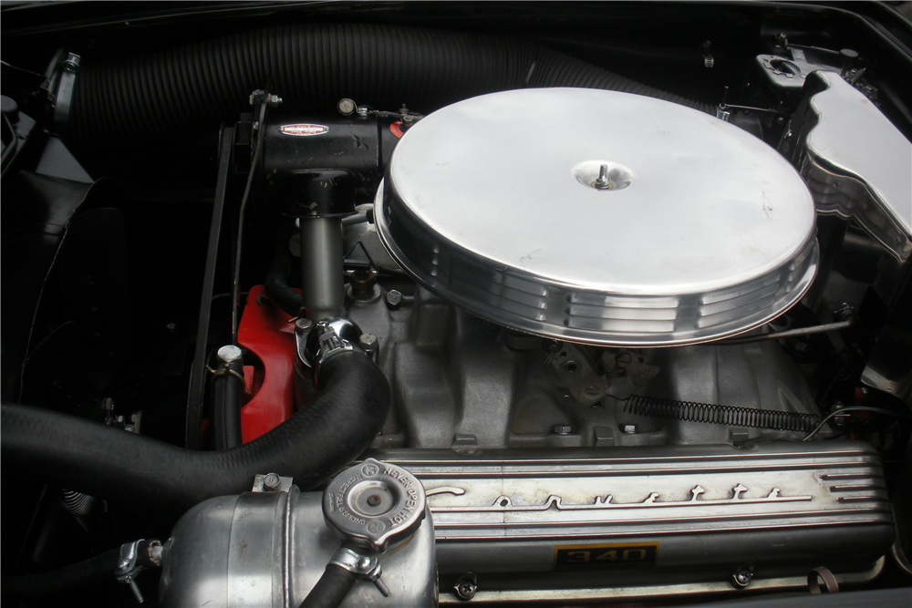1962 CHEVROLET CORVETTE CONVERTIBLE - Engine - 190035