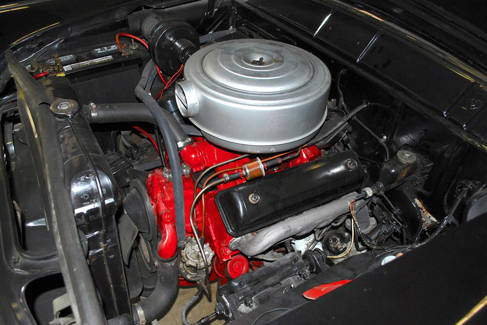 1956 FORD SUNLINER CONVERTIBLE - Engine - 190038