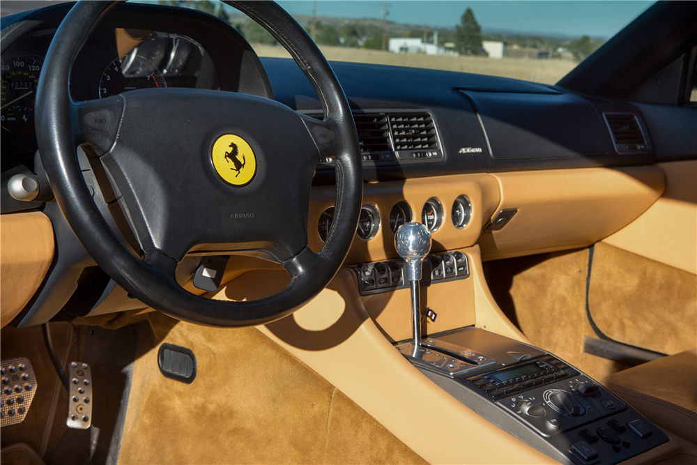 1997 FERRARI 456 GTA - Interior - 190040