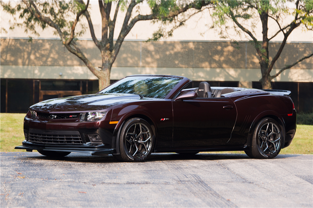 2014 Chevrolet Camaro Z 28 Custom Convertible 190042