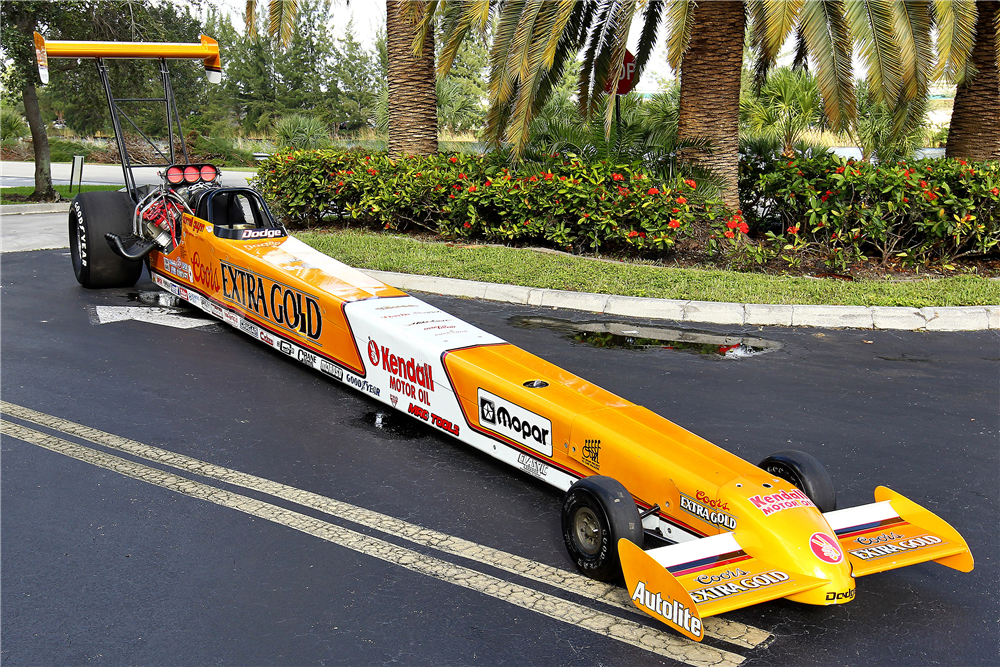 1989 MIKE CASE TOP FUEL DRAGSTER - Front 3/4 - 190047