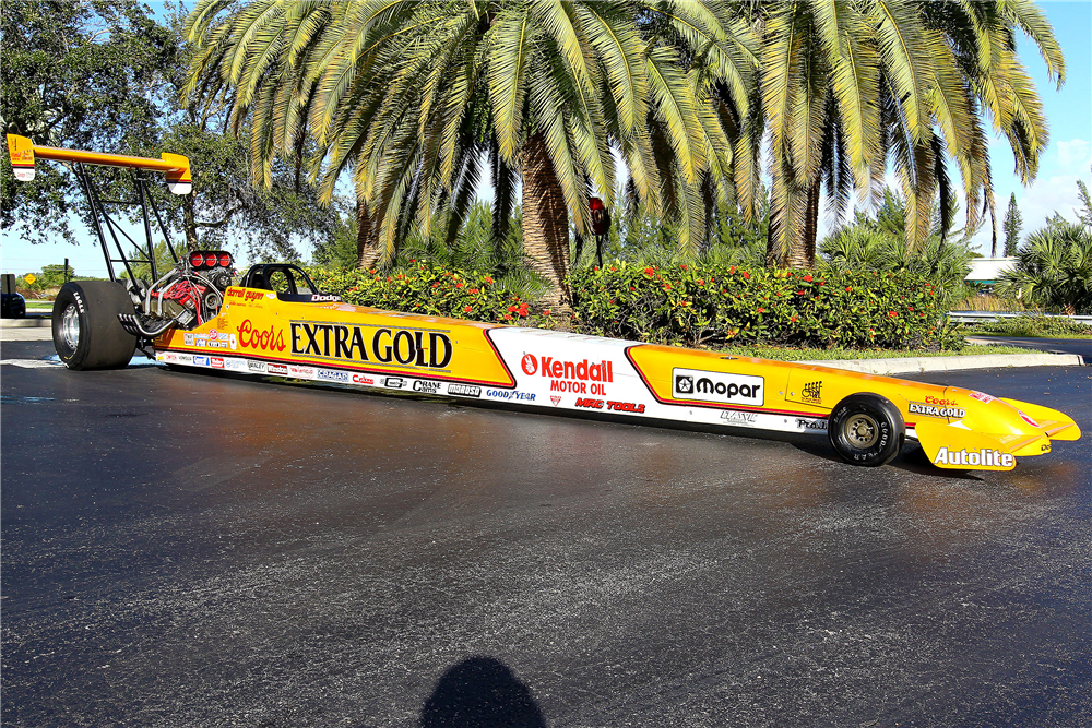 1989 MIKE CASE TOP FUEL DRAGSTER - Side Profile - 190047