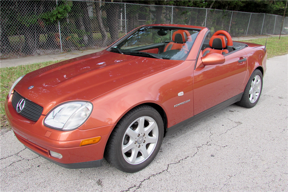 2000 MERCEDES-BENZ SLK230 ROADSTER - Front 3/4 - 190051