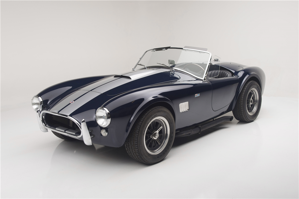 1965 SHELBY 289 COBRA ROADSTER CSX2495 - Front 3/4 - 190063