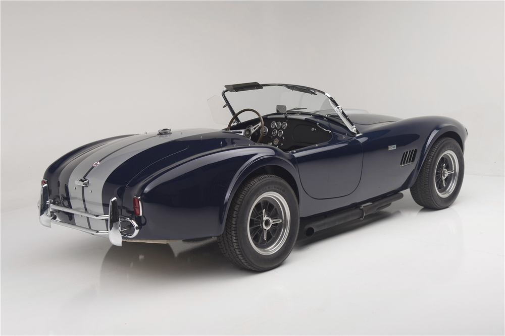 1965 SHELBY 289 COBRA ROADSTER CSX2495 - Rear 3/4 - 190063
