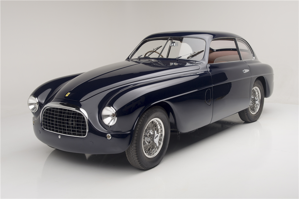 1950 FERRARI 195 S INTER SUPERLEGGERA - Front 3/4 - 190069
