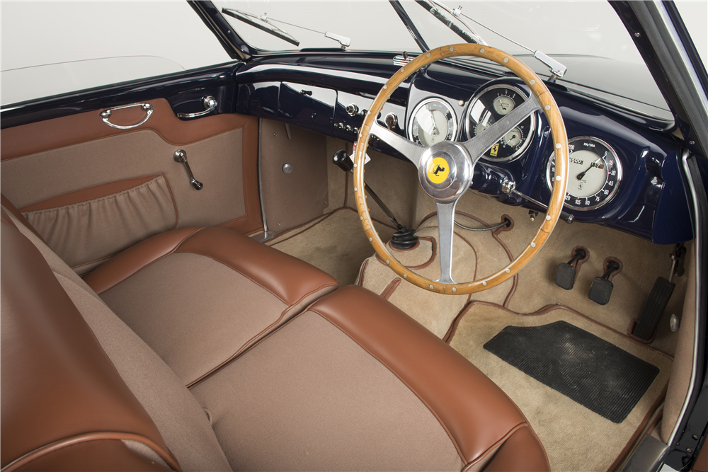 1950 FERRARI 195 S INTER SUPERLEGGERA - Interior - 190069