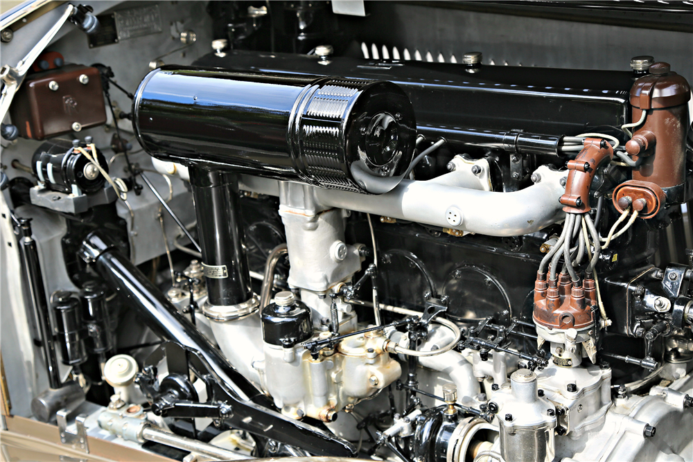 1934 ROLLS-ROYCE PHANTOM II KELLNER CABRIOLET - Engine - 190070