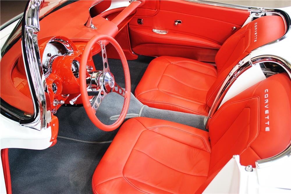 1961 CHEVROLET CORVETTE CUSTOM CONVERTIBLE - Interior - 190074