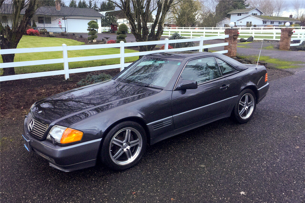 1991 Mercedes Benz 500sl Roadster 190078