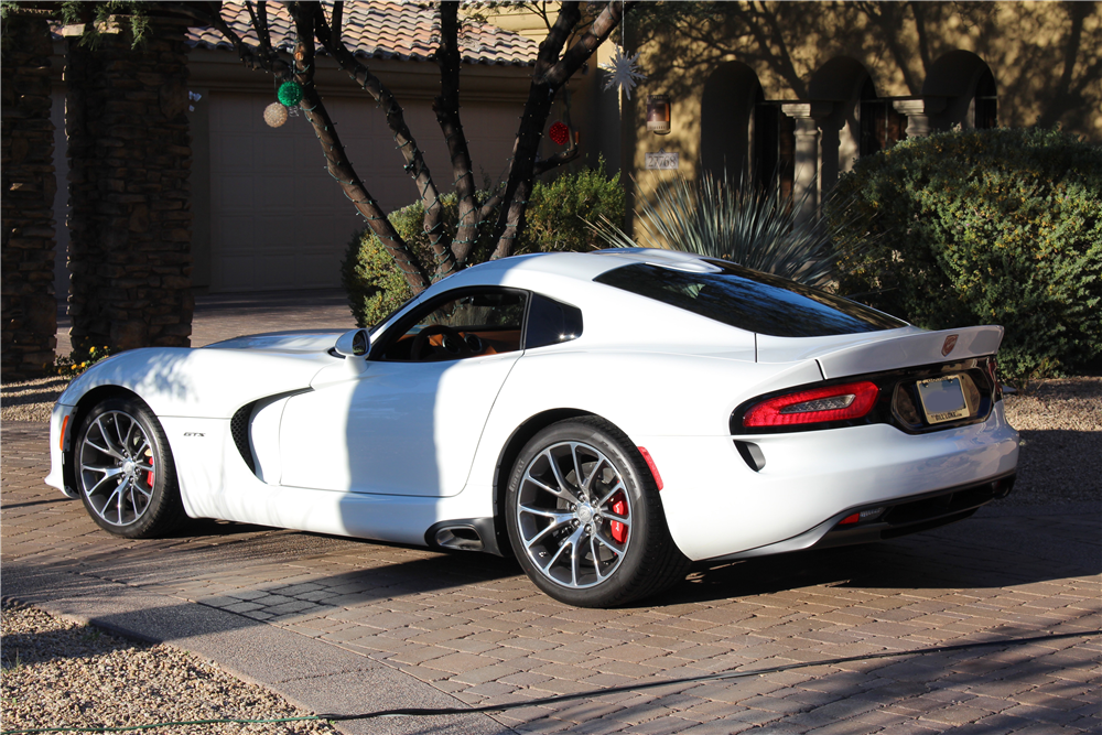 2014 DODGE VIPER SRT/GTS  - Rear 3/4 - 190092