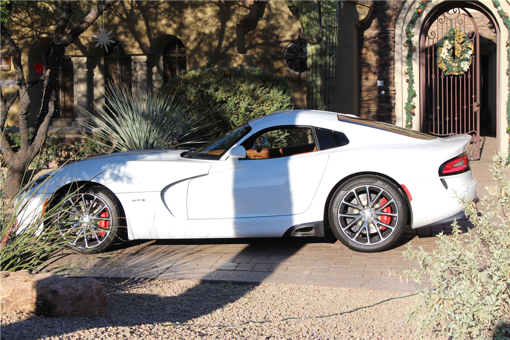 2014 DODGE VIPER SRT/GTS  - Side Profile - 190092