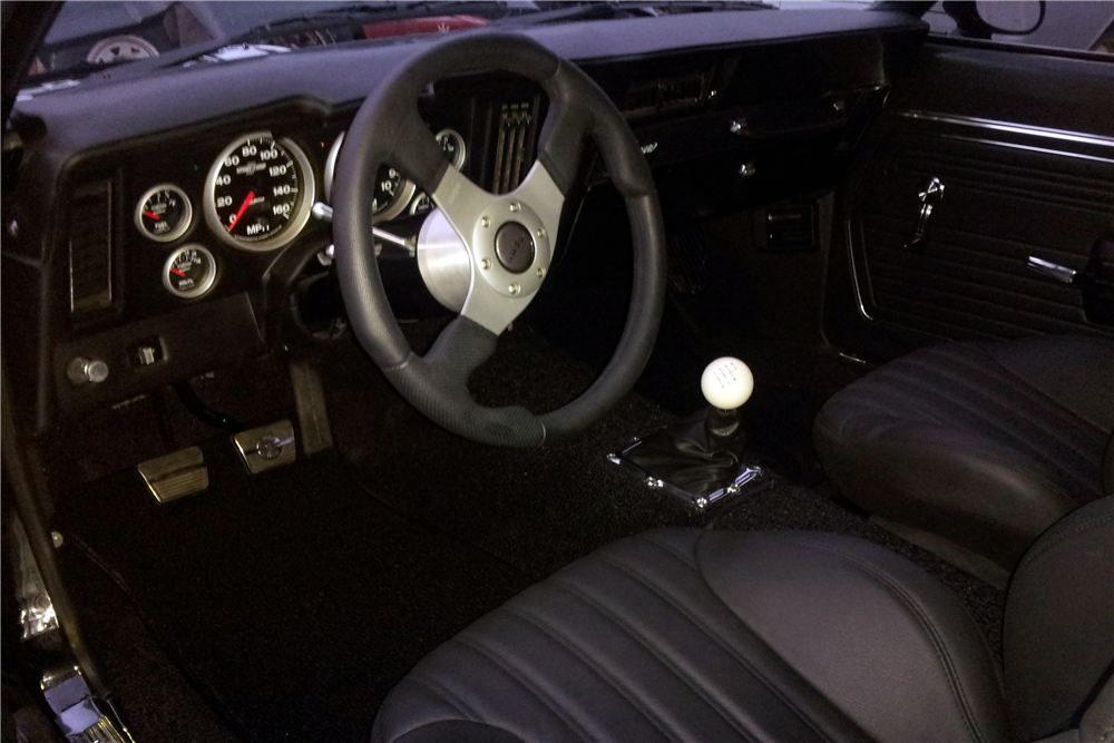 1969 CHEVROLET CAMARO CUSTOM COUPE - Interior - 190099