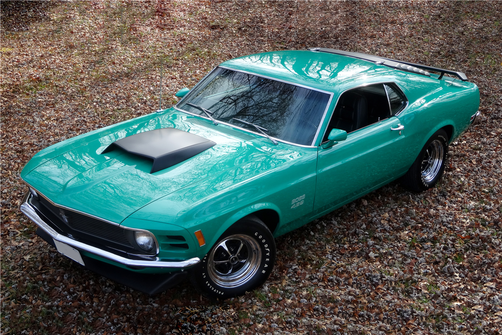 1970 FORD MUSTANG BOSS 429 FASTBACK - Front 3/4 - 190100