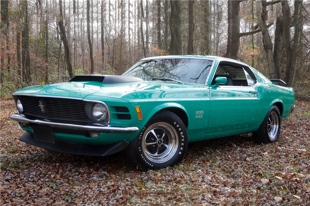 1970 FORD MUSTANG BOSS 429 FASTBACK - Side Profile - 190100