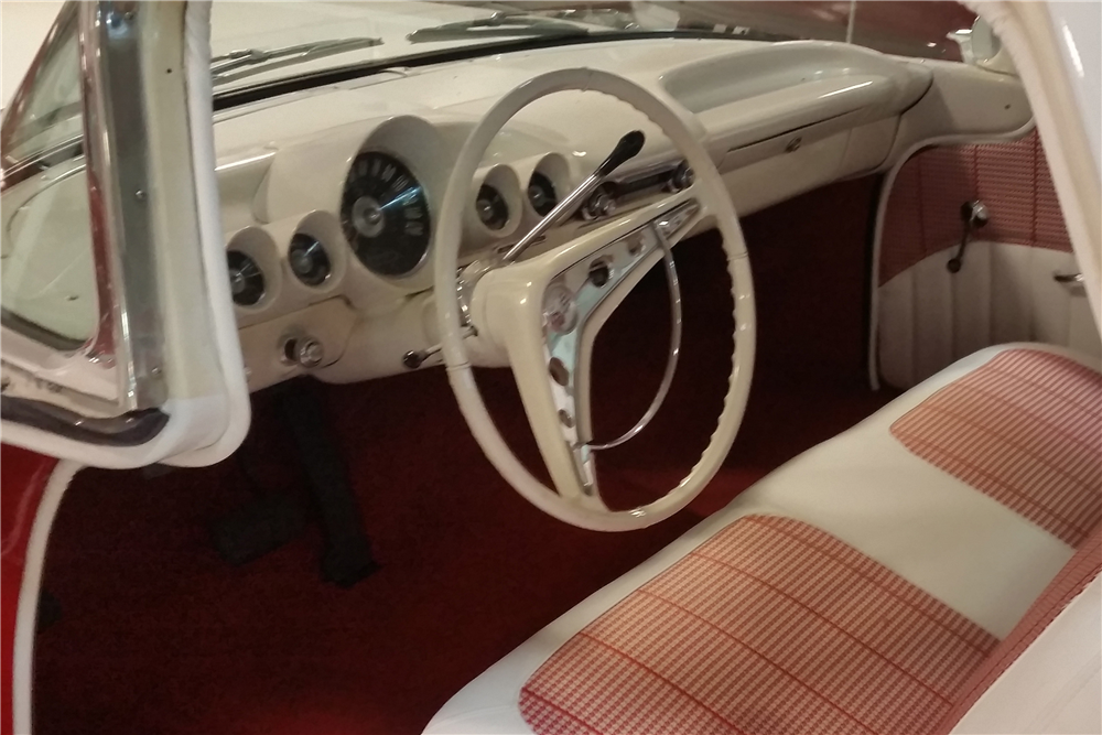 1960 CHEVROLET EL CAMINO CUSTOM PICKUP - Interior - 190101