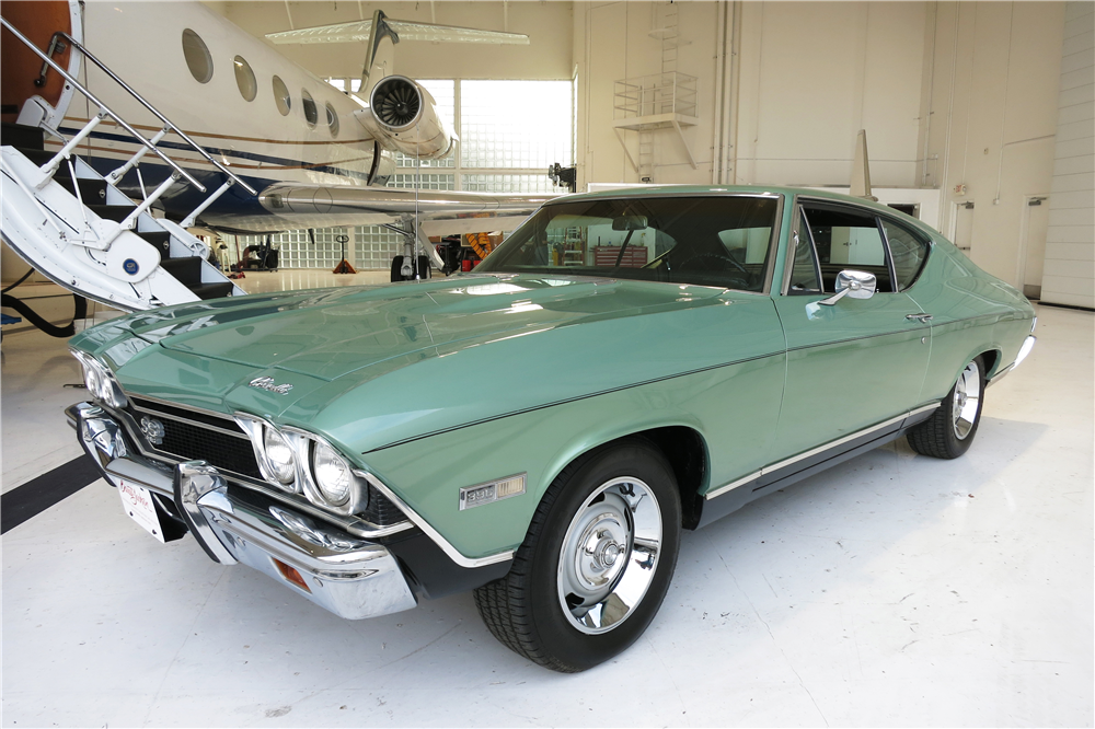 1968 CHEVROLET CHEVELLE SS  - Front 3/4 - 190106