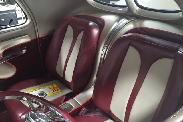 1941 WILLYS CUSTOM COUPE - Interior - 190110