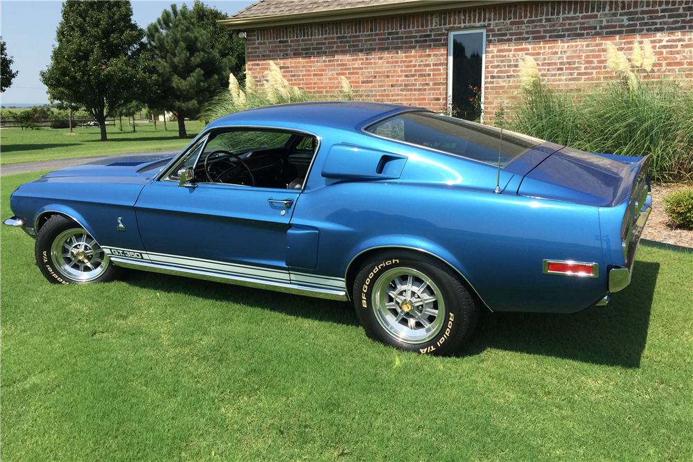 1968 SHELBY GT350 H FASTBACK - Side Profile - 190112