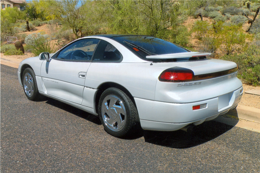 1994 DODGE STEALTH R/T TWIN TURBO - Rear 3/4 - 190122