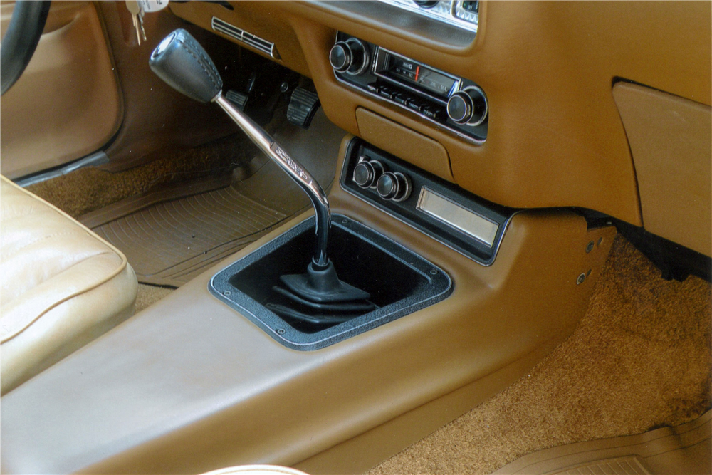 1977 PONTIAC FIREBIRD TRANS AM  - Interior - 190124