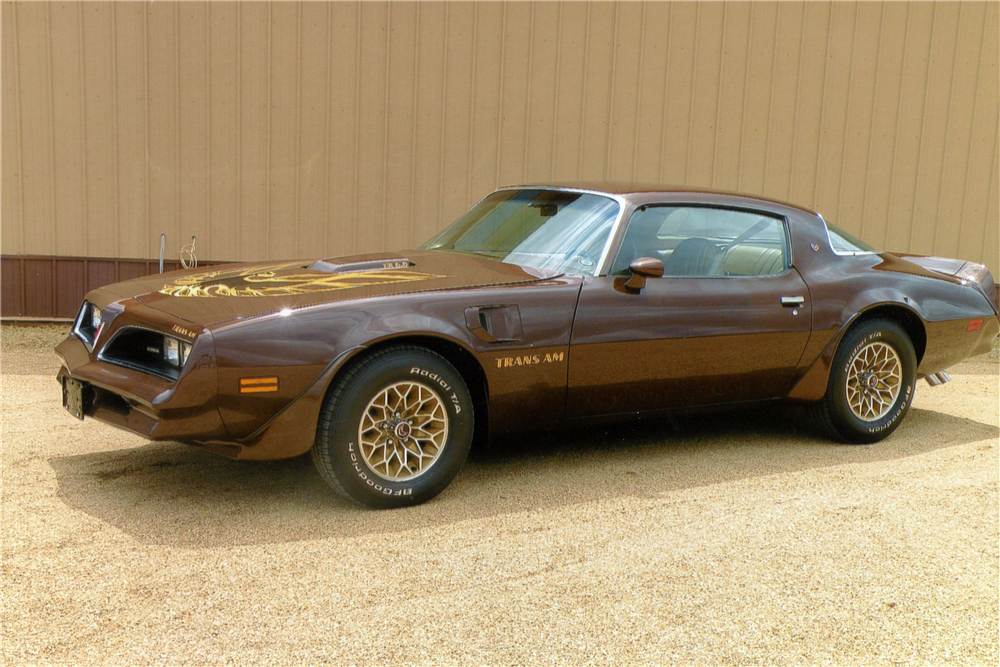1977 PONTIAC FIREBIRD TRANS AM  - Side Profile - 190124