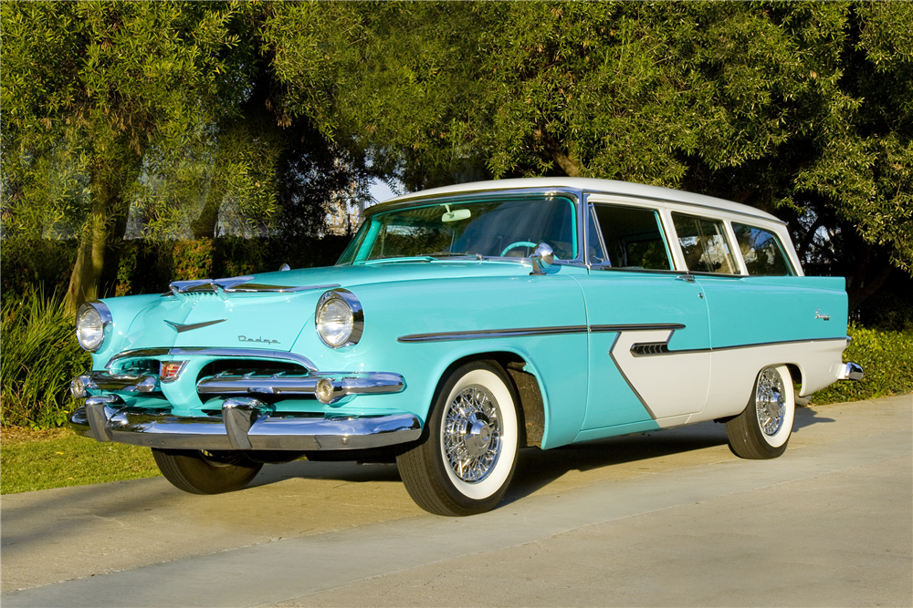 1956 STATION WAGON - Front 3/4 - 190136