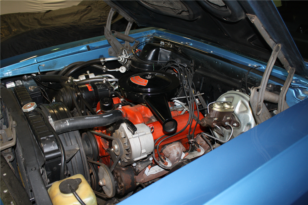 1967 CHEVROLET CHEVELLE MALIBU  - Engine - 190139