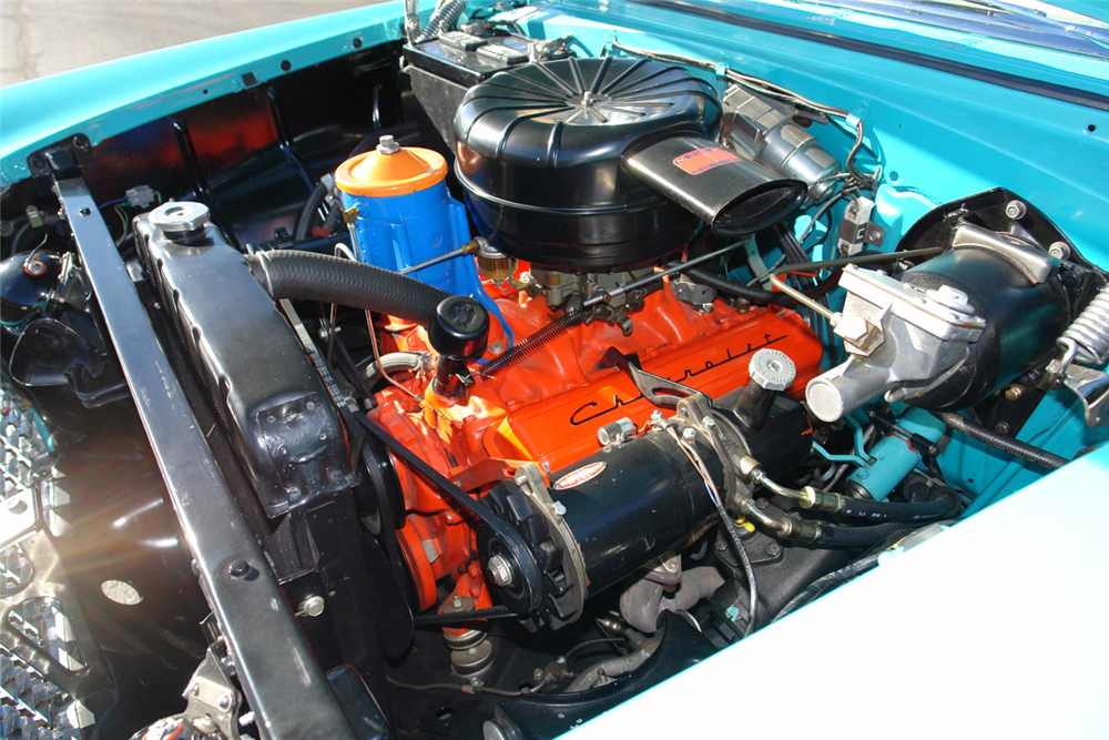1955 CHEVROLET BEL AIR CONVERTIBLE - Engine - 190157