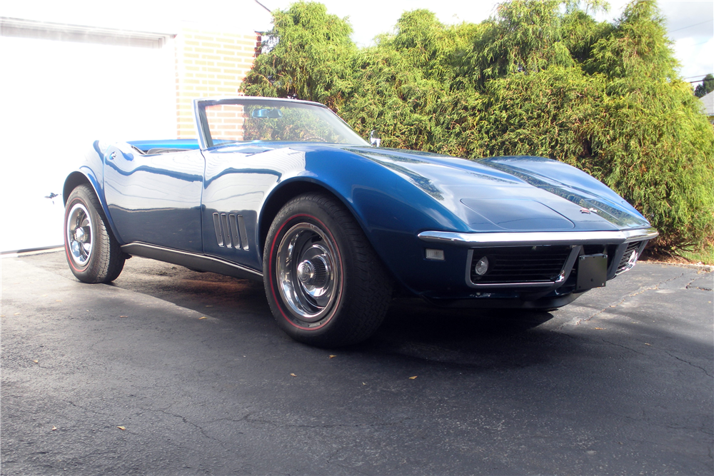 1968 CHEVROLET CORVETTE CONVERTIBLE - Misc 1 - 190162