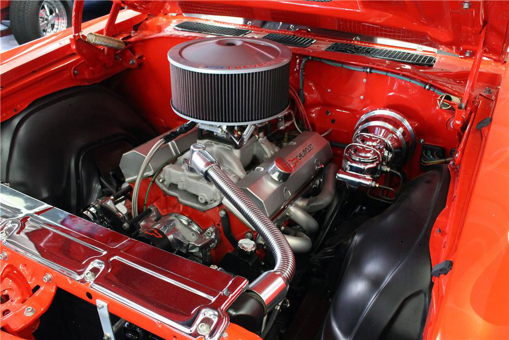 1971 CHEVROLET CHEVELLE CUSTOM COUPE - Engine - 190164