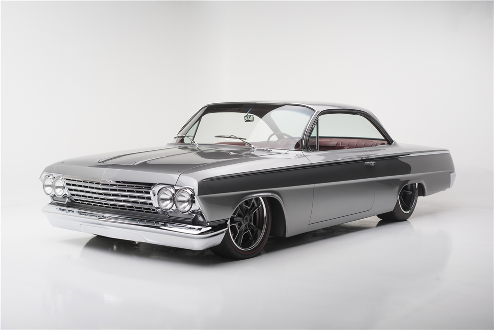 1962 CHEVROLET BEL AIR CUSTOM BUBBLE TOP - Front 3/4 - 190199